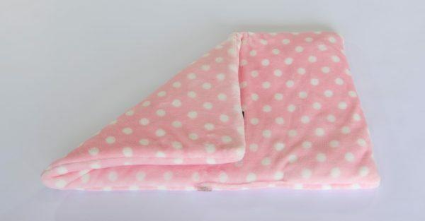Hondenkussen 70 x 45 cm roze
