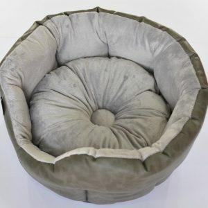 Hondenmand met dik opgevulde rug diameter 55 cm