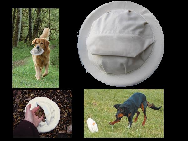 Training frisbee voor hond 20cm