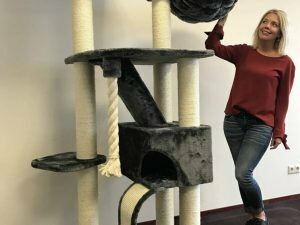 Cat Tree Kilimandjaro de Luxe Dark Grey