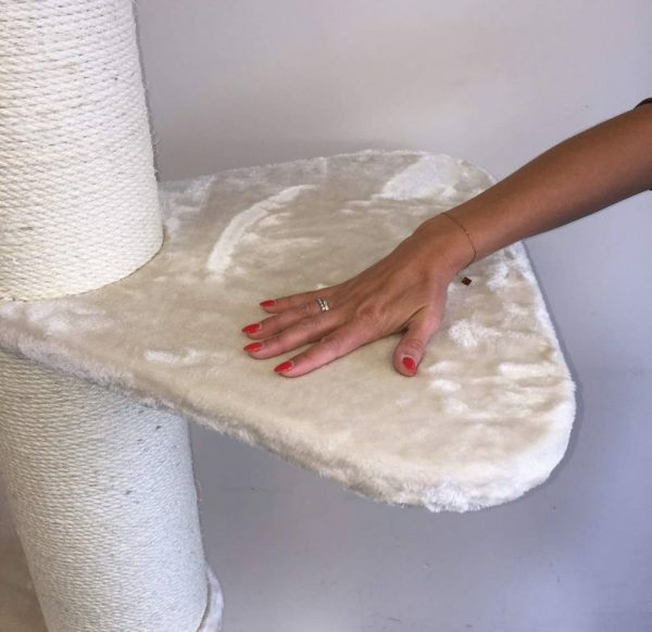 Step 55x55 cm Cream slaapplank onderdeel krabpaal