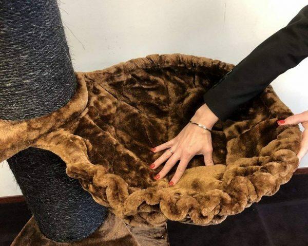 Hangmat 45cm de Luxe Brown Ø 20cm