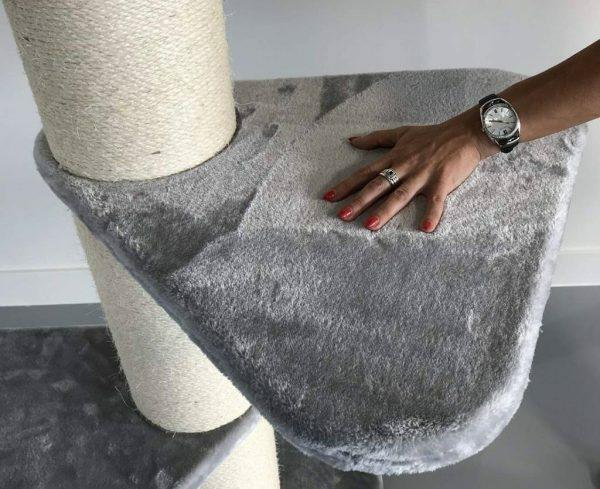 Step 55x55 cm licht grijs slaapplank onderdeel krabpaal