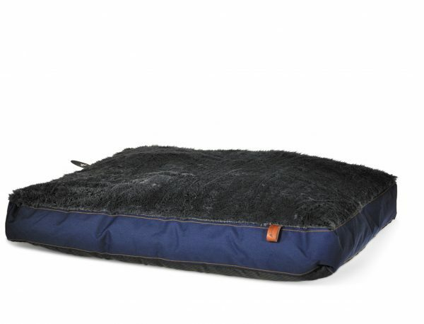 Matras Daley Blue blauw 75x55x10cm