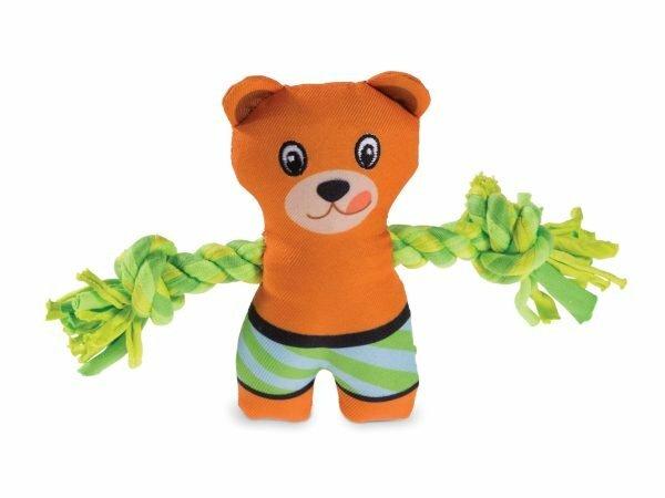 Speelgoed hond mini pluche beertje 18cm