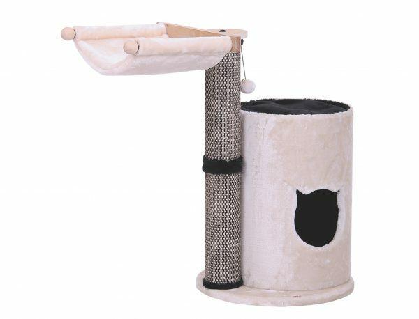 Kattenklim Kadi beige/zwart Ø50x84cm