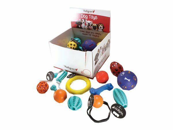 Speelgoed hond rubber Ass.2