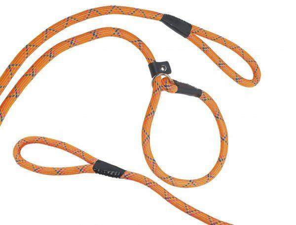 Lasso nylon rond Funn oranje 9mmx170cm