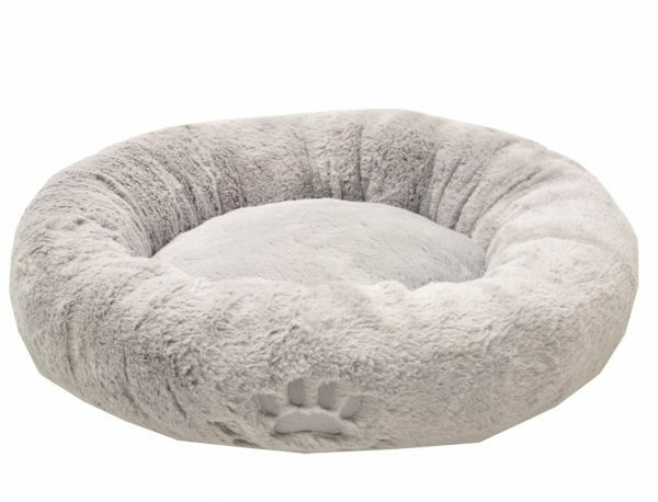 Donut Teddy grijs Ø45cmx11cm
