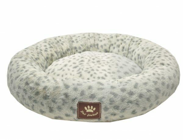 Donut Spotty wit/grijs Ø45cm