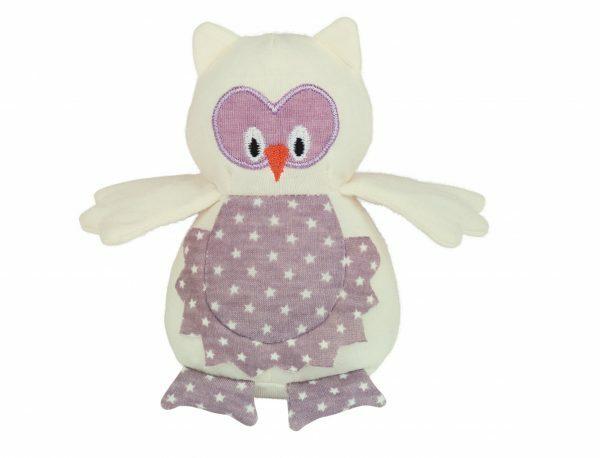 Speelgoed kat uil Owliver roze 13 cm
