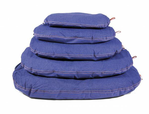 Kussen Bluedenim donkerblauw 63x40cm