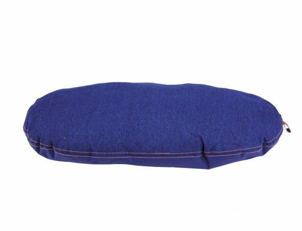 Kussen Bluedenim donkerblauw 67x43cm