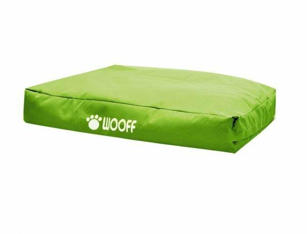 Matras Wooff groen 75x55x15cm