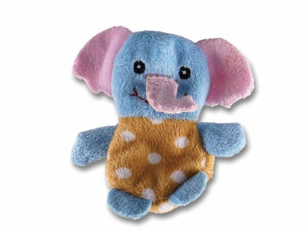 Speelgoed kat pluche olifant Dotsy 10cm