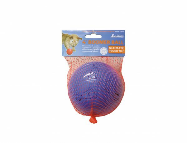 Speelgoed hond Boomer bal rood Ø10cm