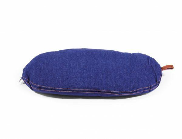 Kussen Bluedenim donkerblauw 47x31cm