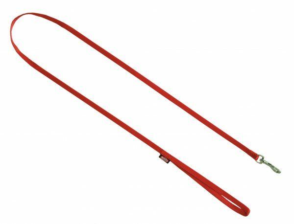 Leiband hond nylon Classic rood 16mmx120cm