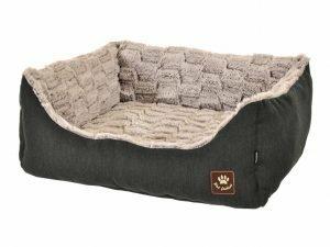 Hondenmand Asma antraciet/grijs 45x40x19cm