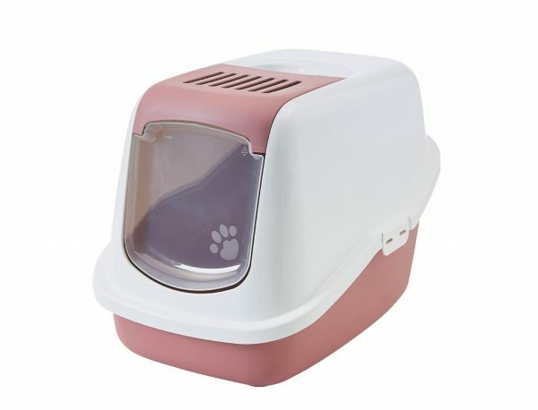 Toilethuis Nestor Earth Pink 56x39x38,5cm