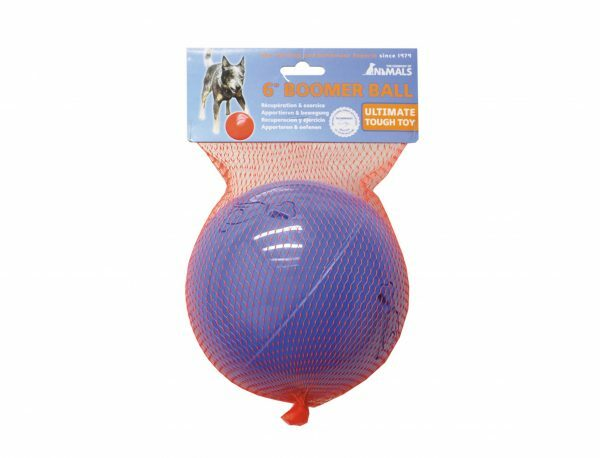 Speelgoed hond Boomer bal blauw Ø15cm