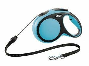 Flexi Comfort blauw M (koord 8 m)
