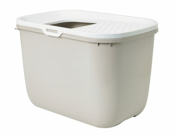 Toilethuis Hop In mokka 58x39x40cm