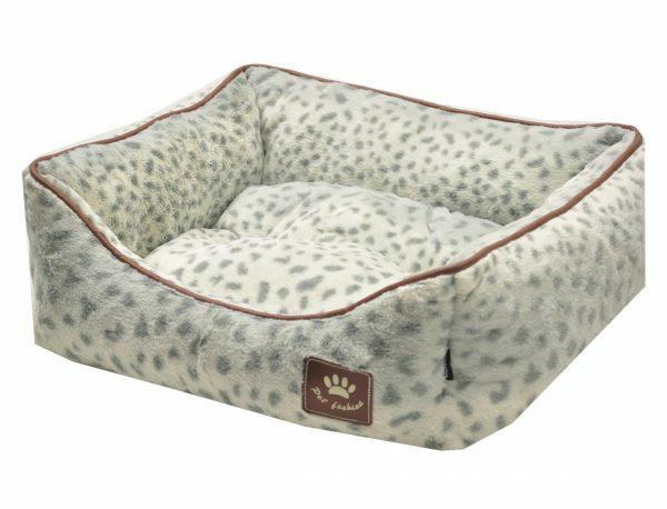 Hondenmand Spotty wit/grijs 45x40cm