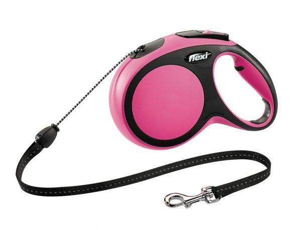 Flexi Comfort roze M (koord 8 m)