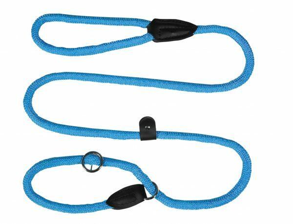 Lasso nylon rond lichtblauw 13mmx170cm
