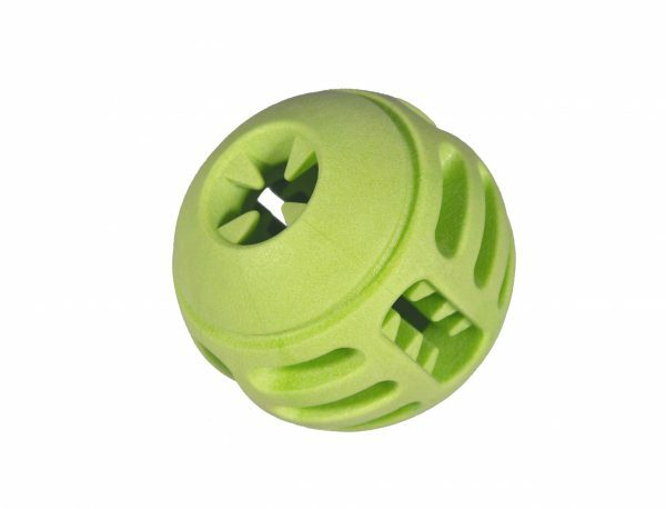 Speelgoed hond TPR bal Green Apple 8cm