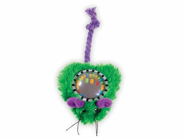 Speelgoed kat pluche emerald groen 16cm