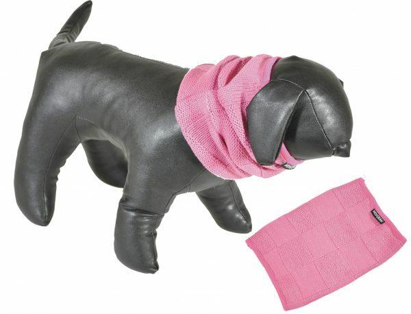 Sjaal roze 40cm