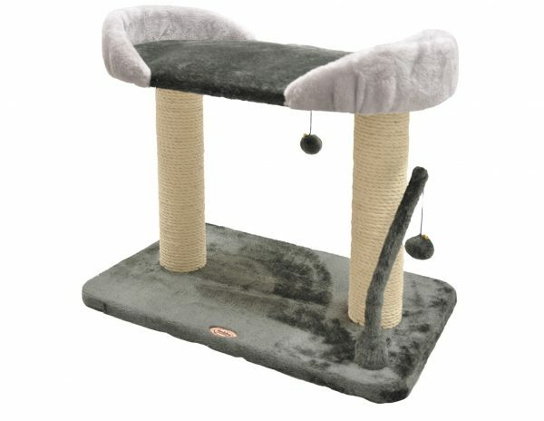 Kattenklim Baluta donker-& lichtgrijs 60x40x52.5cm