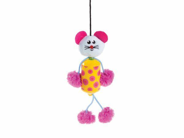 Speelgoed kat Barelli geel 20cm