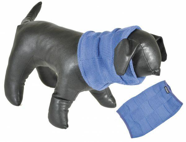 Sjaal blauw 50cm