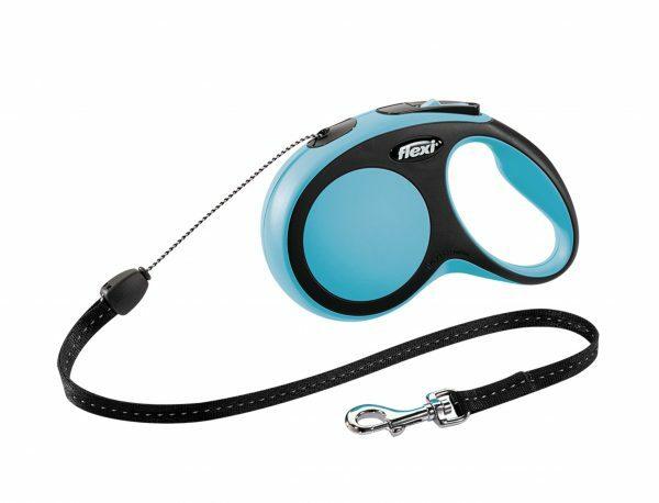Flexi Comfort blauw S (koord 8 m)