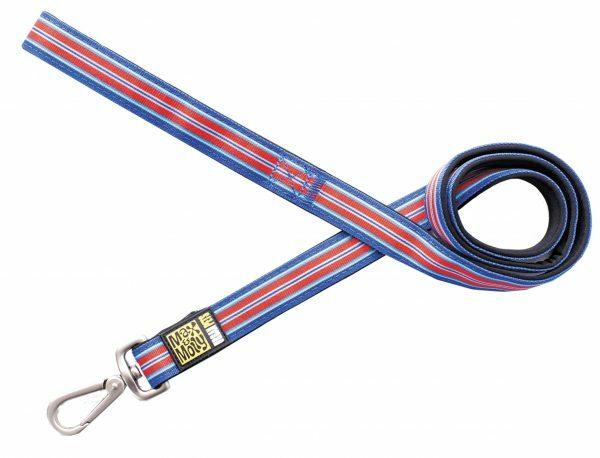 Leiband Hampton Strip Blue XS 10mmx120cm