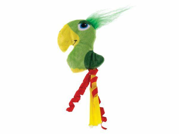 Speelgoed kat papegaai Wingy 12cm