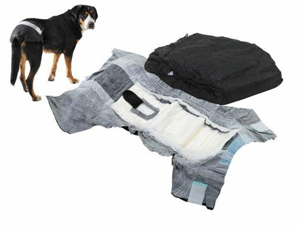 Hondenpamper Comfort Nappy nr7 buikomtrek: 74-84cm