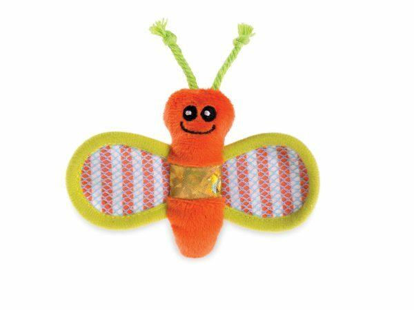 Speelgoed kat vlinder Stripy 12cm