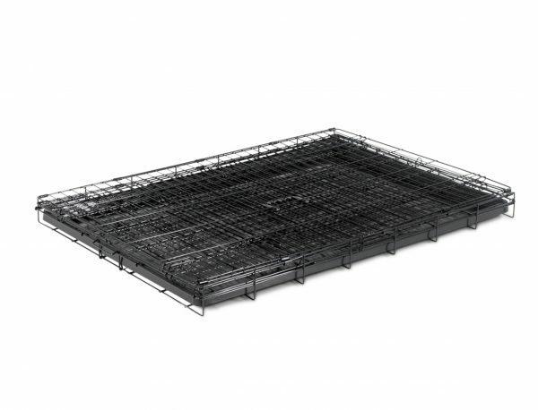 Draadkooi opvouwbaar Classic zwart 107x70x78cm
