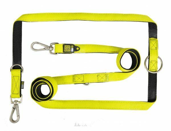 Politieleiband Neo Yellow M 20mmx200cm