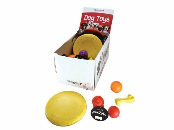Speelgoed hond rubber Ass.1