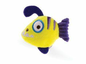 Speelgoed kat vis Marini 10cm