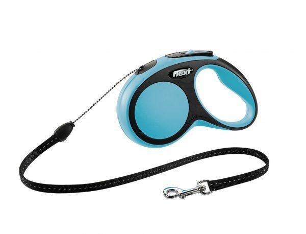 Flexi Comfort blauw S (koord 5 m)