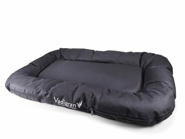 Matras Outdoor nylon zwart 80x56x10cm