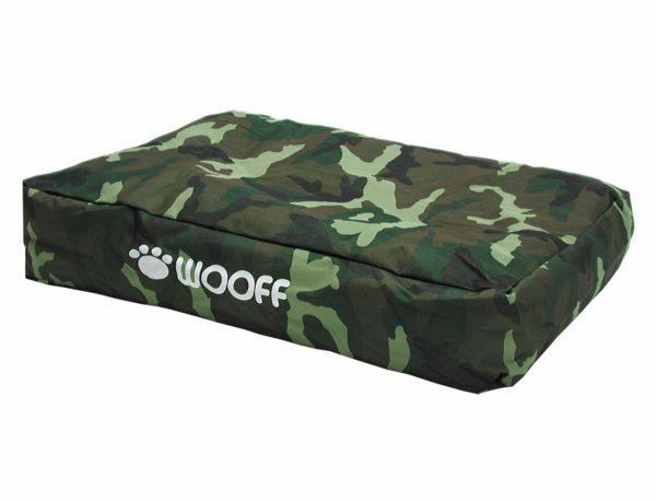 Matras Wooff camouflage 110x70x15cm