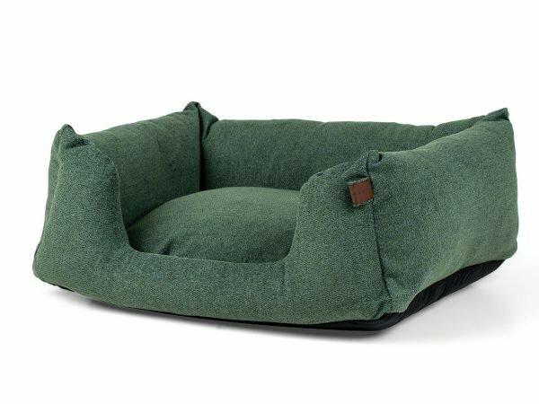 Hondenmand Snooze Botanical Green 80x60cm