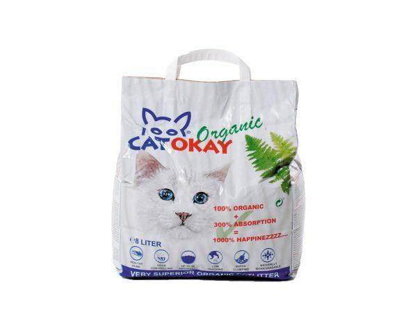 CatOkay Organic 8L 4,5kg